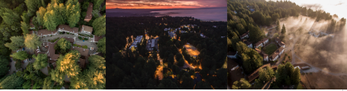 Aerial images of UCSC